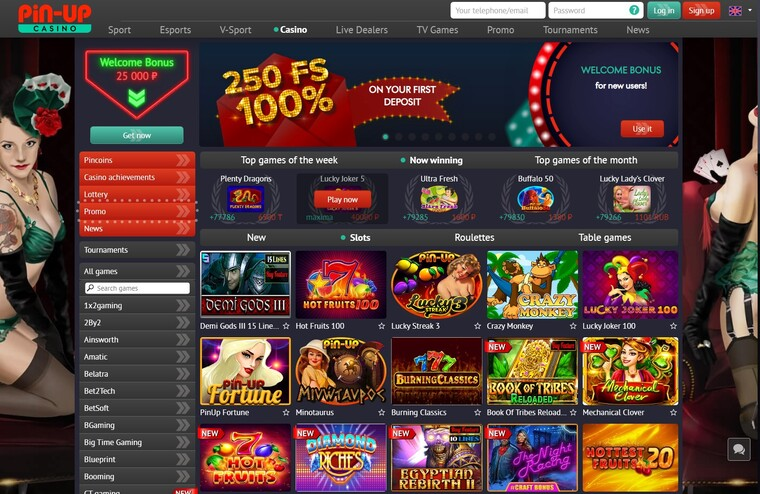 pinup casino review