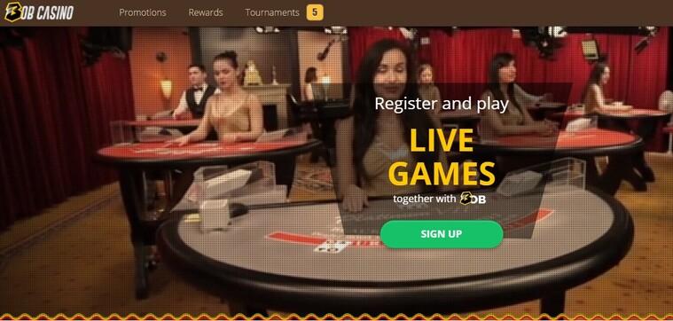bob kasino promo bonus