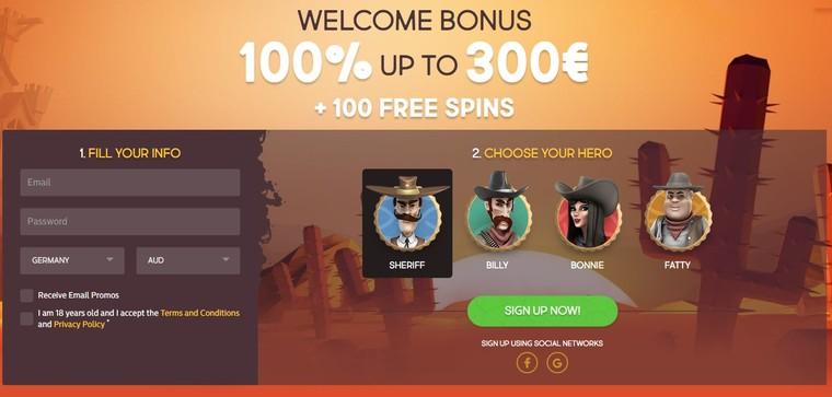 bonus guns bet kasino